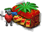 Farmerama Sticker Erdbeer Event